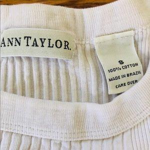 Ann Taylor Tops - 3 Ann Taylor Small 100% Cotton T-Shirts